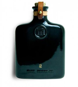 FD - Opus Black ceramic flask